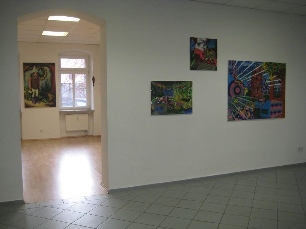 Austellungsansicht Kunst im Hecht 2011